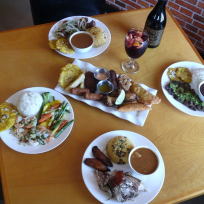 Centered around a Sampler Platter are some of the specialties