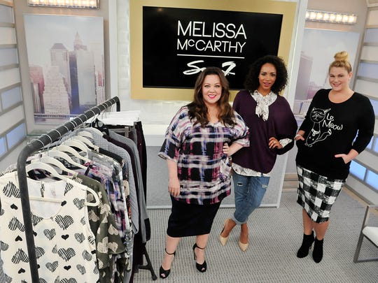 McCarthy debuted her line at HSN.