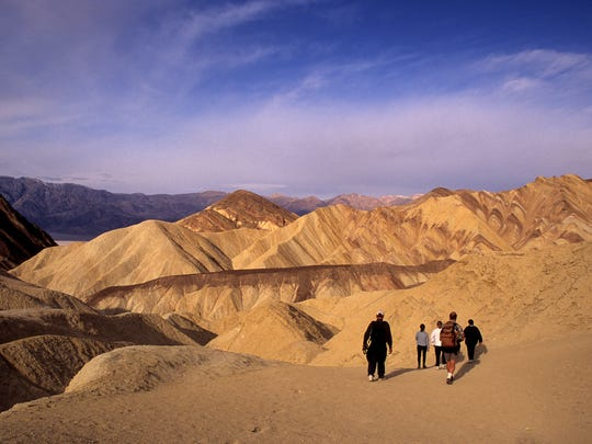 Winter is a great time to visit Death Valley National Park, when the temperatures drop.