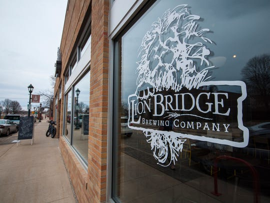 Lion Bridge Brewing Co. sits near the Lion Bridge crossing