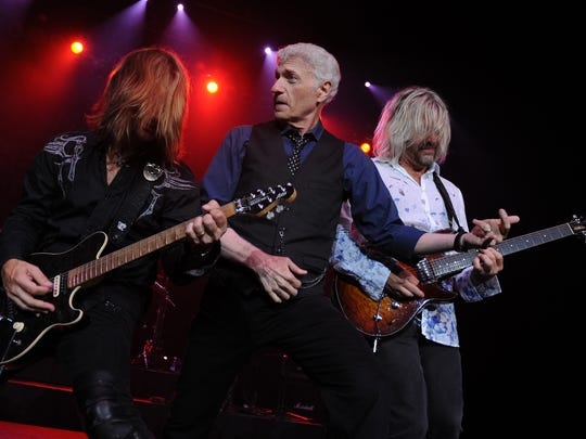 From Left, August Zadrat,Dennis DeYoung and Jimmy Leahey