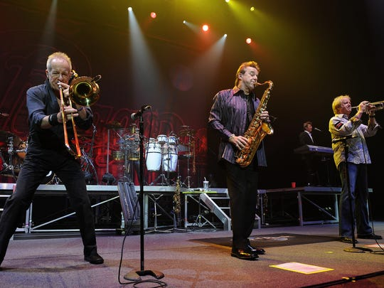In April 4, 2013, James Pankow, left, Walter Parazaider and Lee Loughnane provide Chicago with its distinct sound.