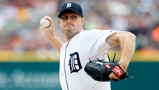 Max Scherzer will now team with David Price in Detroit.