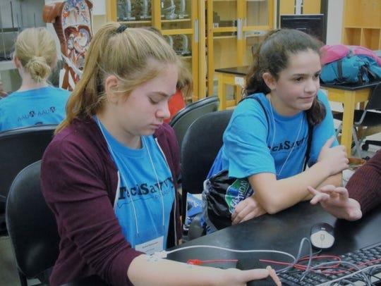 Tech Savvy participants gathered Nov. 4 at St. Cloud
