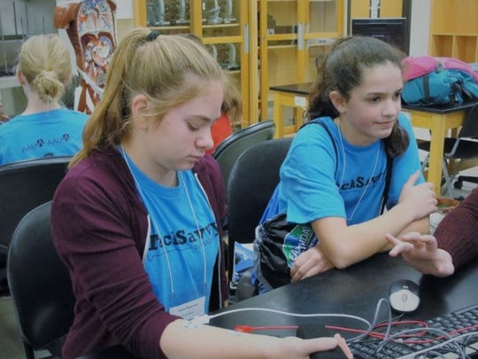 Tech Savvy participants gathered Nov. 4 at St. Cloud State University.