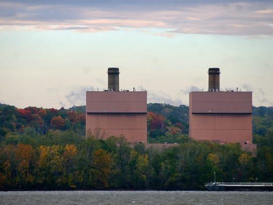 The Roseton Generating Station on October 25, 2007,
