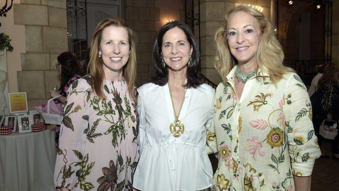 Sara McCann, Nancy Richter and Laura Munder