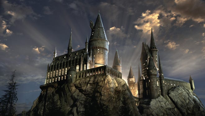 Wizarding World of Harry Potter at Universal Studios Hollywood.