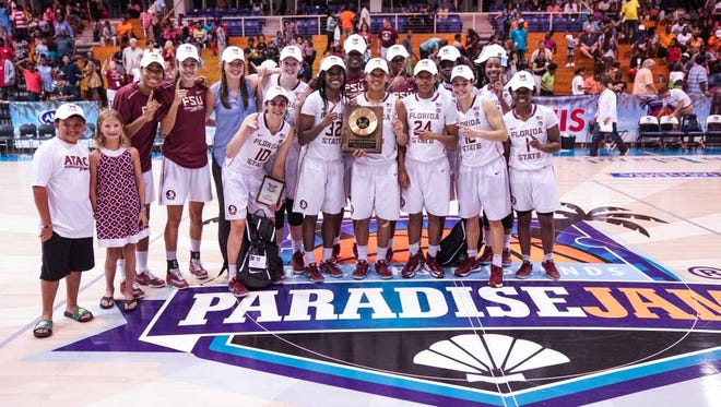 FSU won the 2016 Paradise Jam.