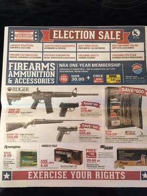 Election sale on AR556? What could possibly go wrong?