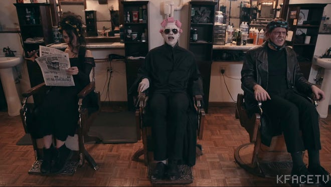 Voldemort adds some dark magic to Bruno Mars' Uptown Funk.
