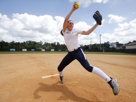Aucilla Christian sophomore Elizabeth Hightower was last year's All-Big Bend Pitcher of the Year after a 14-5 season with a 0.64 ERA and 224 strikeouts in 129 innings pitched.