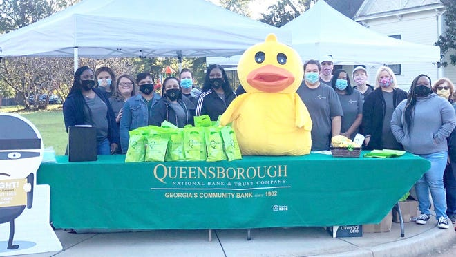 Pictured are the Queensborough employees who volunteered to assist with the event.