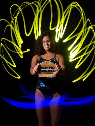 Sloan Sizemore of Martin County High School, all-area