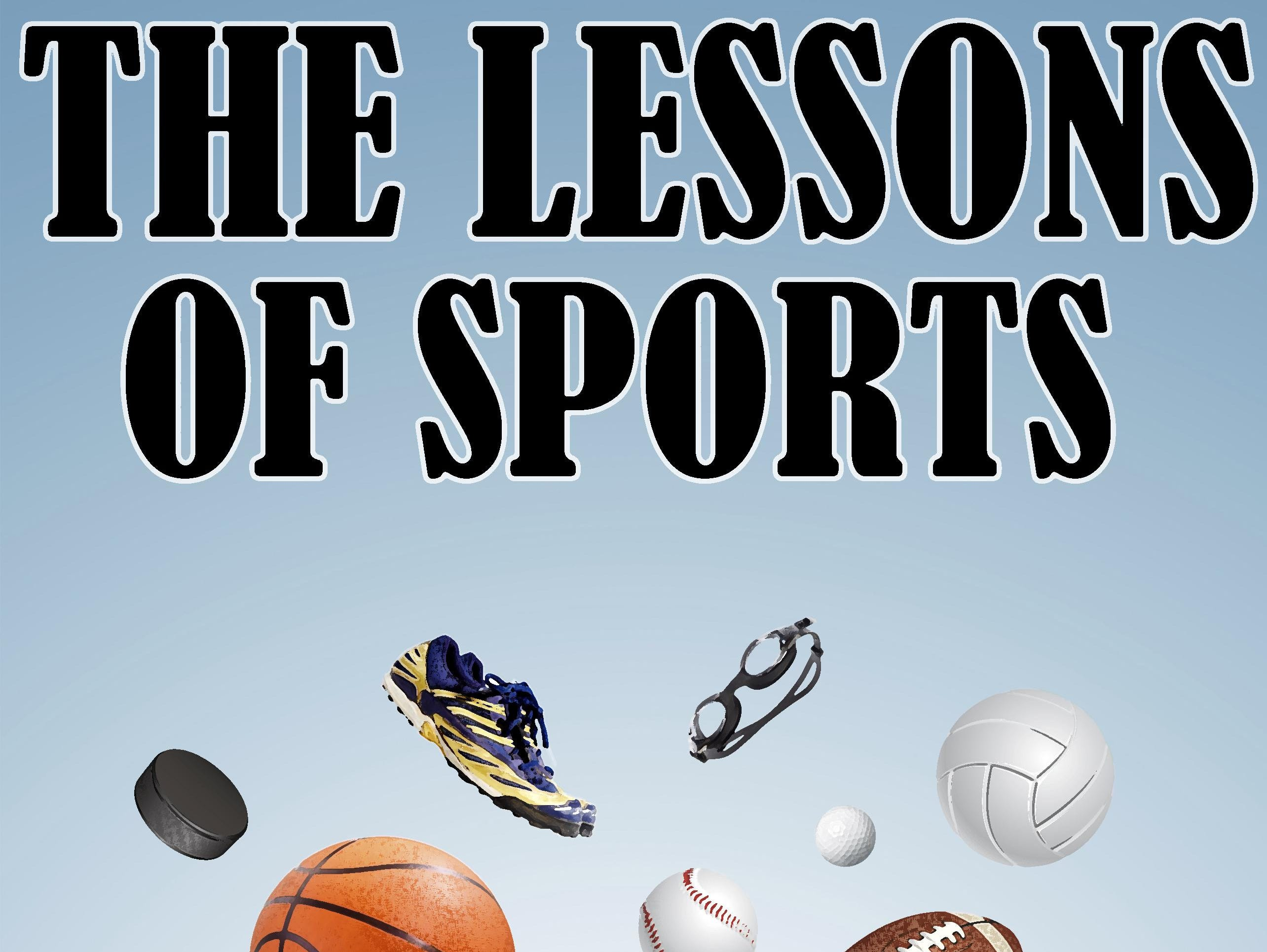 The Lessons of Sports logo for the Mansfield News Journal 2015