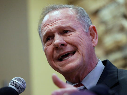 U.S. Senate candidate from Alabama Roy Moore
