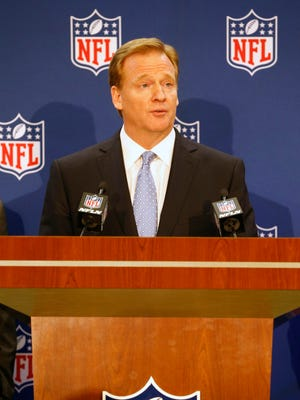 NFL Commissioner Roger Goodell has endured a firestorm of controversy over the past year.