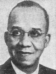 Dr. Claude Evans, Battle Creek's first black dentist who was a community leader. Evans died in 1963 and Glenurban Park was rededicated in his honor in 1974.