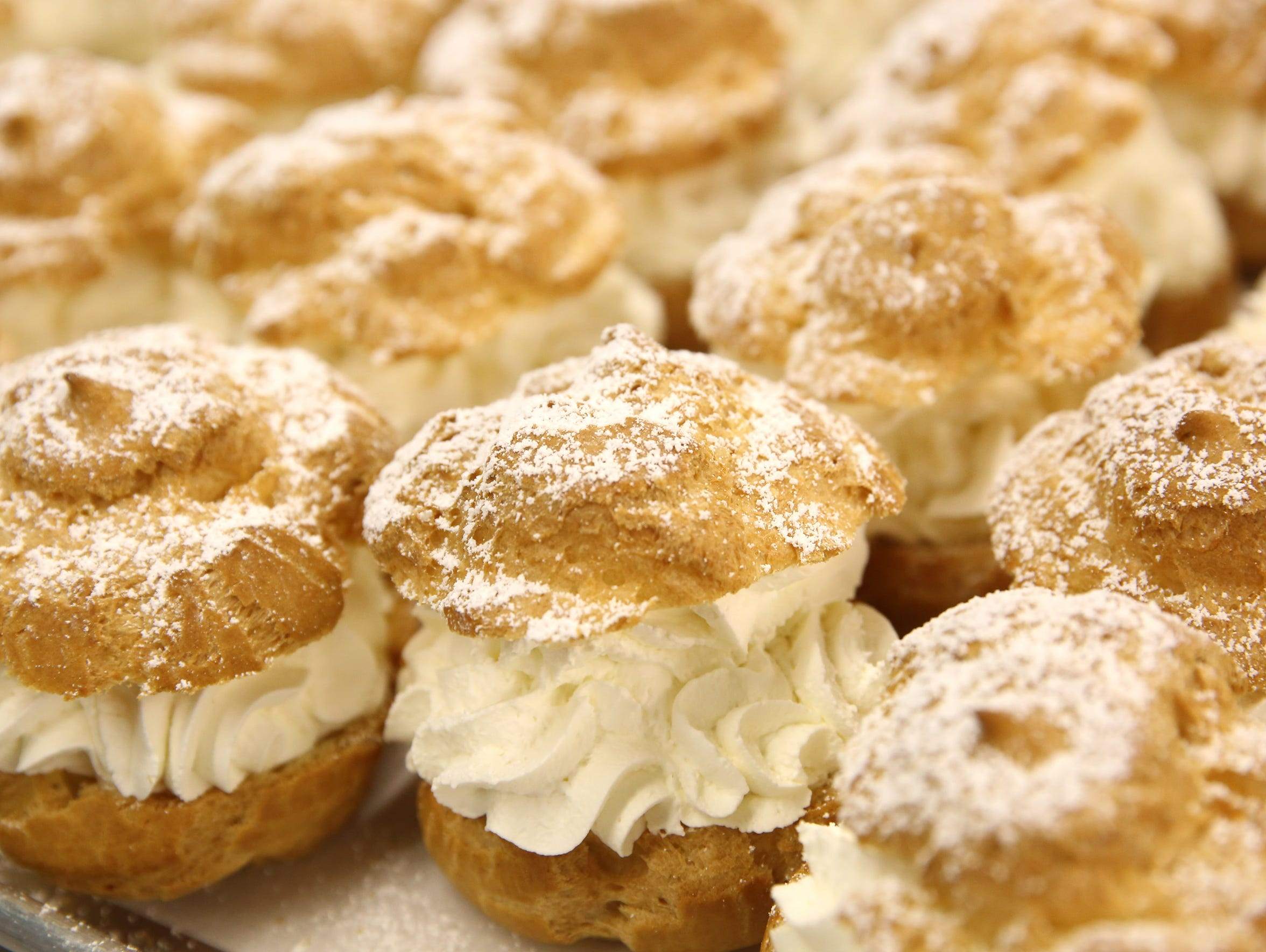 Cream Puffs will be on the menu come Wisconsin State