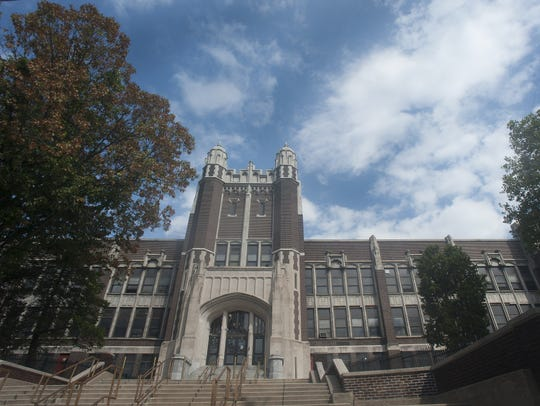 "The old Camden High School was nicknamed the ""Castle"