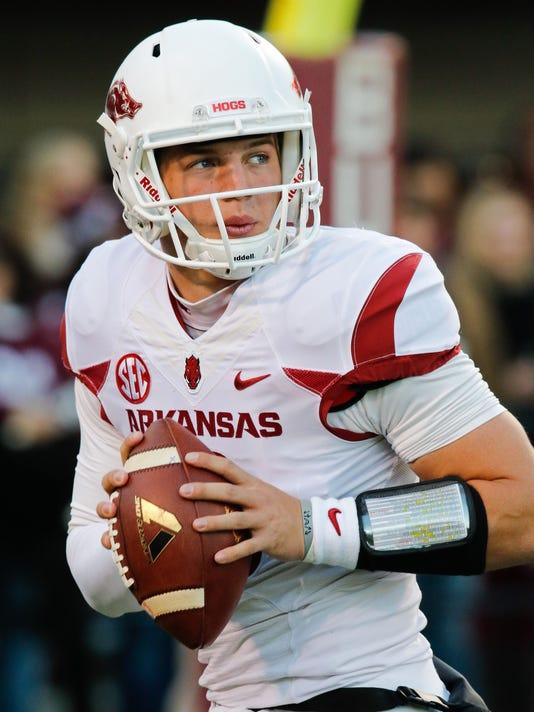 NCAA Football: Arkansas at Mississippi State