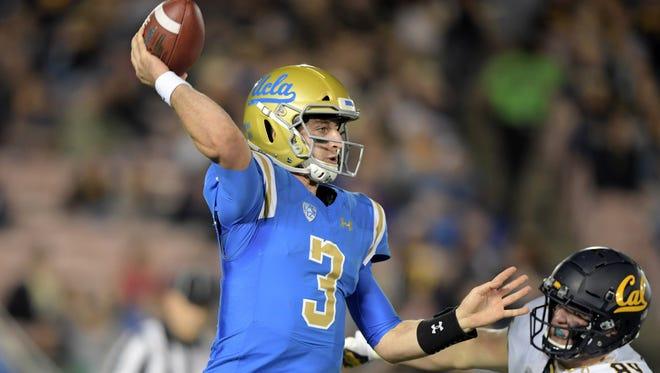 12. Bills (from Bengals) — Josh Rosen, QB, UCLA