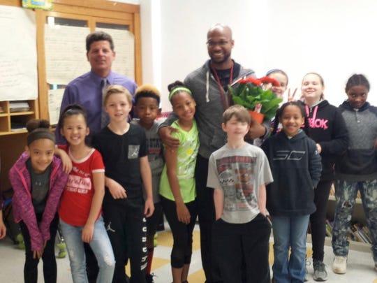 Ware Elementary School fourth grade teacher Donte'