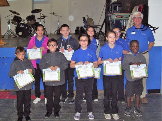 Legacy Christian Academy had 9 students qualify for
