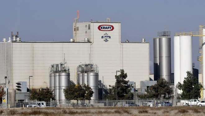 Kraft Heinz Tulare facility, located at 10833 Octol Avenue in Tulare.