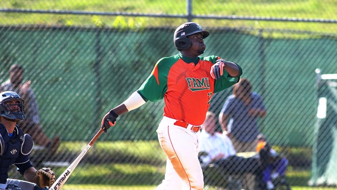 Bennie Robinson had two of FAMU?s seven hits, including a solo home run in the third inning against UNF.