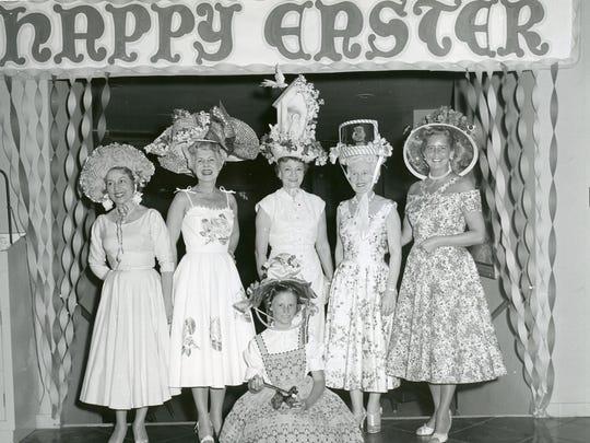 Easter hat contest at the El Mirador Hotel.
