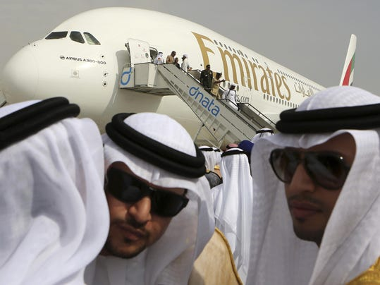 Emirates Airbus