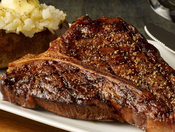 Steak, chicken, ribs, seafood & pastas in a great ambiance BOGO Deal. Offer good through 2/28.