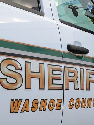 A file photo of a Washoe County Sheriff's Office vehicle