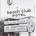 A postcard shows the Naples Beach Hotel & Golf Club course. Courtesy of Naples Beach Hotel & Golf Club