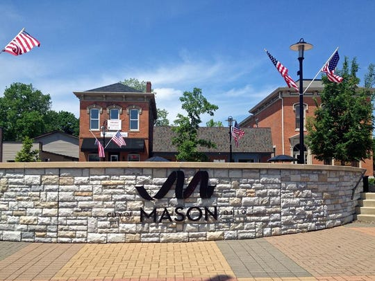Mason woman's drone video soars over her city and on
