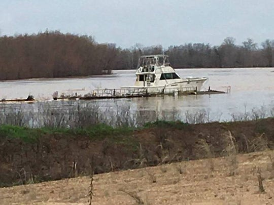 Bossier Sheriff's Office deputies with the Marine Patrol crew recovered a fishing boat just after 11 a.m. Sunday after it had drifted, along with its docking, from Cash Point RV Park area around 7:30 a.m. No one was with the boat, and the owner is out of town.