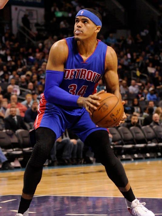 NBA: Detroit Pistons at Charlotte Hornets