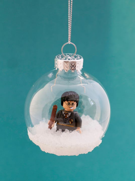 Turn toys into christmas tree ornaments