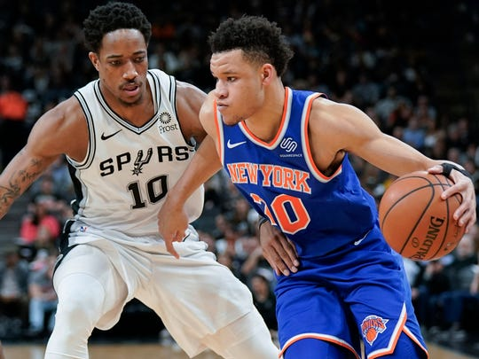 New York Knicks forward Kevin Knox is about to begin an important sophomore season.