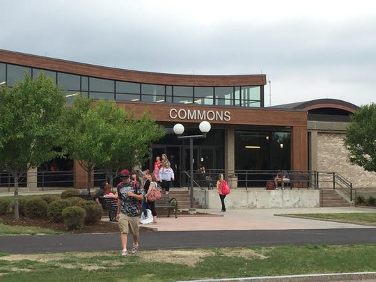 The Commons Building at Corning Community College's main campus underwent an exterior facelift and many interior changes.