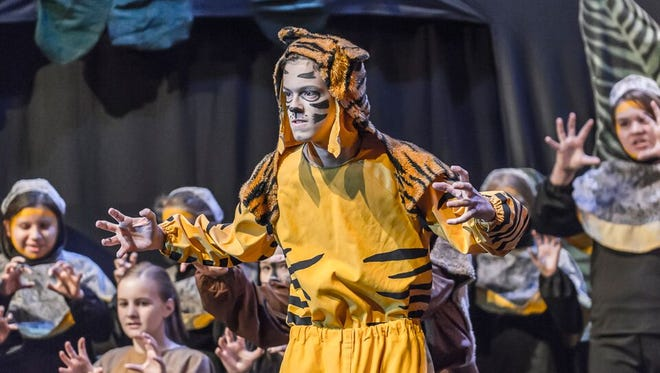 """Students can sign up for one of three different summer arts camps put on by the Dona Ana Arts Council. In 2016, the Missoula Children's Theater camp put on a production of """"Jungle Book."""""""