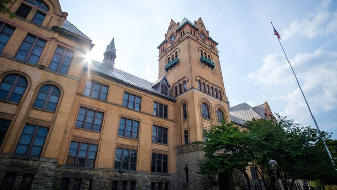 """Wayne State University's Old Main. The university has reachedthe$750 million goal of its""""Pivotal Moments"""" fundraising campaign, three months early and ahead of its 150th anniversary as it continues its work in Detroit, officials announced Tuesday."""