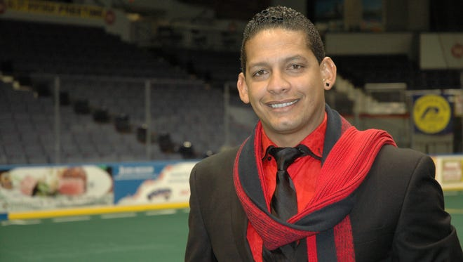 Rey Angel Martinez, an assistant coach with the Rochester Lancers Indoor Soccer team, says he spends $1,000 a month on his phone bill calling his mother in Cuba.