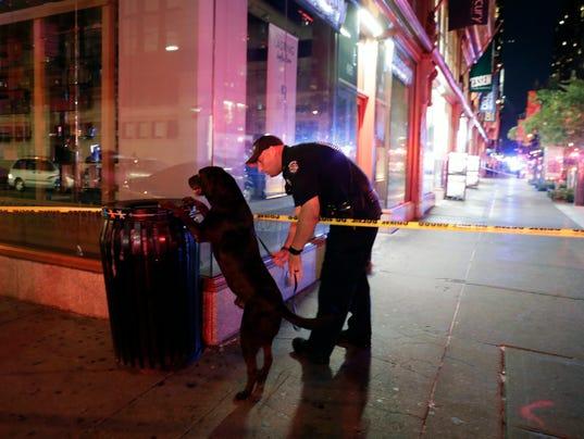 EPA USA NEW YORK EXPLOSION CLJ POLICE USA NY