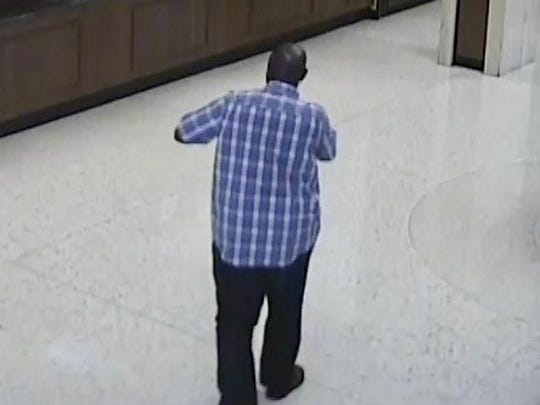 The FBI said this man robbed the U.S. Bank branch on