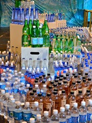 Bottled water is judged on packaging as well as taste.