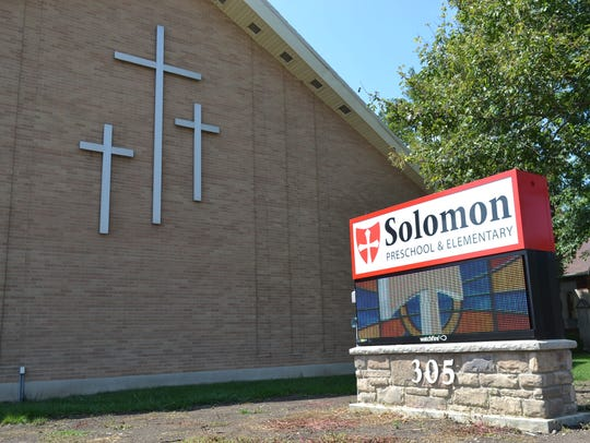 Solomon Lutheran School, which opened in 1862, is the