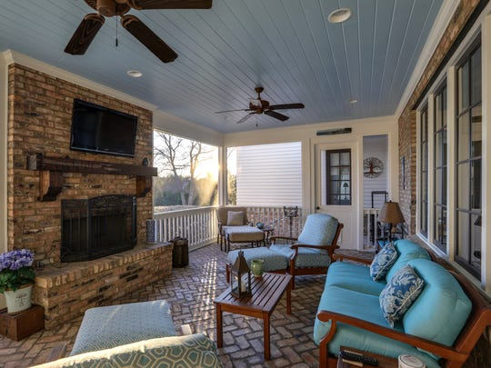The home at 9263 Carrisbrook Lane has a private theater