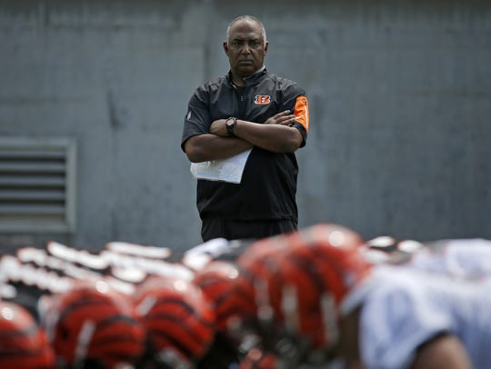 Cincinnati Bengals head coach Marvin Lewis could leave